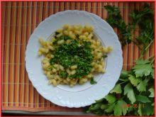 Makaron z czosnkiem i świeżymi ziołami