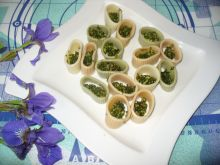 Makaron z pesto z listków rzodkiewek
