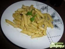 Makaron z pistacjowym pesto