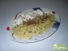 Makaron z serem i czekoladą