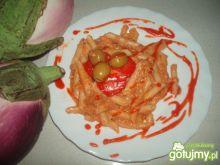 Makaron z tuńczykiem w sosiku