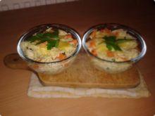 Makaron zapiekany z marchewką