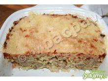 Makaron zapiekany z sosem bolognese