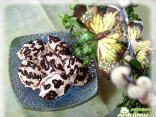 Makaroniki kokosowe z kremem czekoladowy