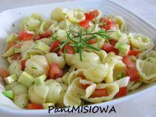 Makaronowa sałatka a'la guacamole