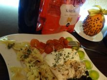 Makaronowe kokardki kolacyjne