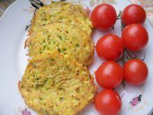 Makaronowe placki z brokułem