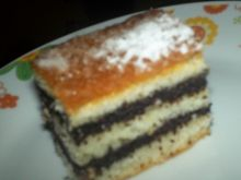 Makowiec -ciasto z sera białego