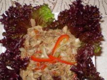 Makrela wędzona z musztardą