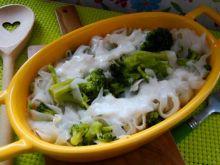 Makron ryżowy z brokułem
