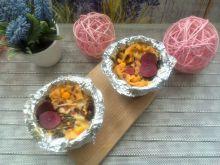 Małe zapiekanki makaronowe