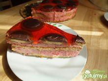 Malinowe ciasto