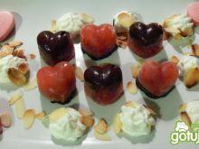 Malinowo- czekoladowe serduszka
