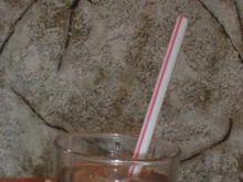 Malinowo miętowy drink