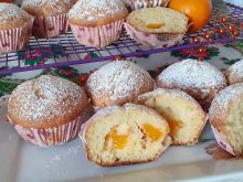 Mandarynkowe babeczki (mandarynki z puszki)