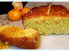 Mandarynkowe ciasto jaglane