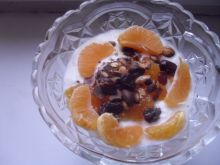 Mandarynkowy deser