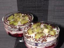 Mannowy deser z niespodzianką