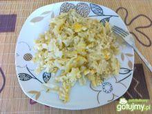 Marakonik z jajkiem.