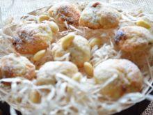 Marcepanowe ciastka