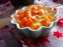 Marchewka na soku pomarańczowym