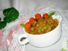 Marchewka z groszkiem do obiadu