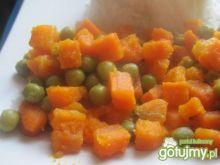 Marchewka z groszkiem do potrawki