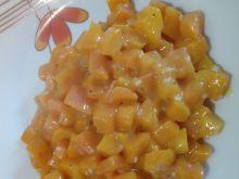 Marchewka z pomarańczą i sezamem