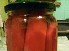 Marchewki w zalewie słodko-kwaśnej