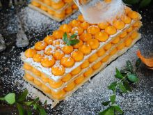 Marchewkowe mille- feuille