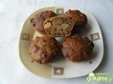 Marchewkowe muffinki z ananasem