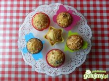 Marchewkowe muffinki z żurawiną