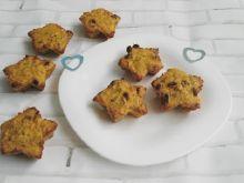 Marchewkowe muffiny z rodzynkami