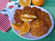 Marchewkowe racuchy z nutką pomarańczy