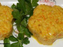 Marchewkowy ryż :
