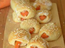 Marchwiaczki- bułeczki z marchewką
