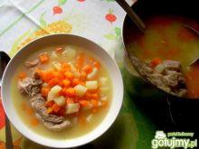 Marchwianka-kartoflanka na warkoczu