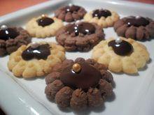 Margaretki z czekoladową nutą