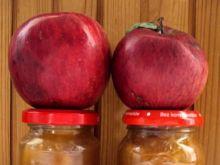 Marmolada z kawałkami jabłek