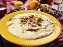 Marokański pudding ryżowy