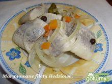 Marynowane filety śledziowe