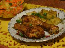 Marynowane podudzia z kurczaka