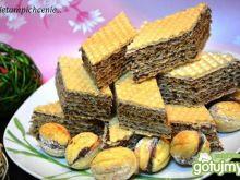 Masa z kakao do wafli orzeszków  ciastek