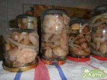 Maślaczki z cebulką w zalewie octowej