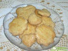 Maslane ciasteczka z kokosem