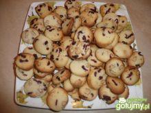 maślane ciasteczka z żurawiną