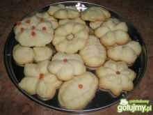 Maślane ciasteczka ze szprycy