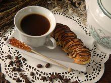Maślane eklerki kawowe