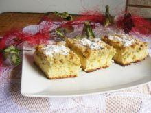 Maślankowe ciasto z agrestem