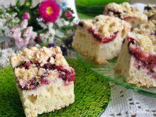Maślankowe ciasto ze śliwkami i kruszonką